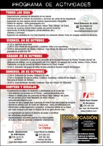 PROGRAMA FOLLETO BR 2ª Feria Expo-Villanueva y el Bajo Gállego